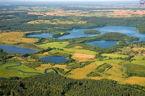 LOTNICZE. Polska, warm-maz. Jezioro Limajno.