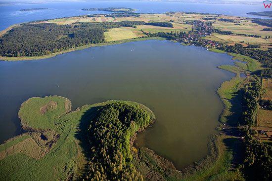 Lotnicze, Pl, warm-maz. Pojezierze Mazurskie, jezioro Bialolawki.
