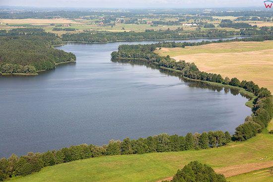 Lotnicze, Pl, warm-maz. Pojezierze Mazurskie (Elckie) Jezioro Oleckie Male.