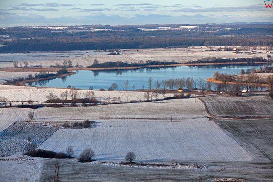 Lotnicze, EU, Pl, warm-maz. Jezioro Wielochowskie.