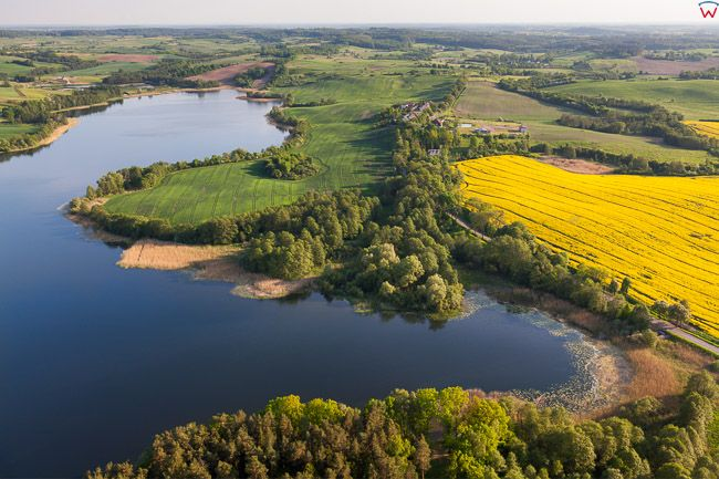 Jezioro Mildzkie, EU, PL, Warm-Maz. Lotnicze