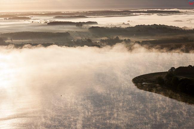 Jezioro Blanki, 15.08.2017. Wschod slonca w okolicy jeziora.