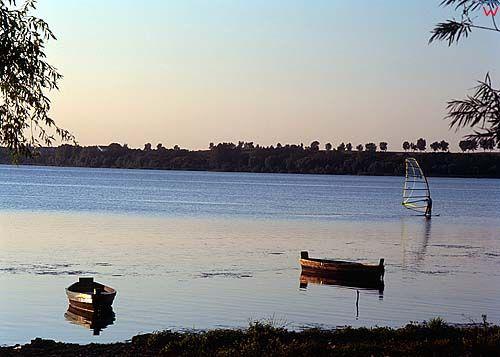 Żnin, jezioro