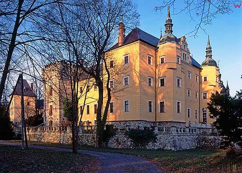 Zamek w Kliczkowie, dolnośląskie