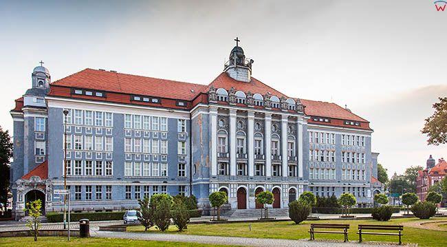 Legnica, siedziba Legnickiej Kurii Biskupiej. EU, Pl, Dolnoslaskie.