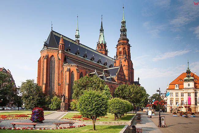 Legnica, Katedra pw. sw. Apostolow Piotra i Pawla. EU, Pl, Dolnoslaskie.