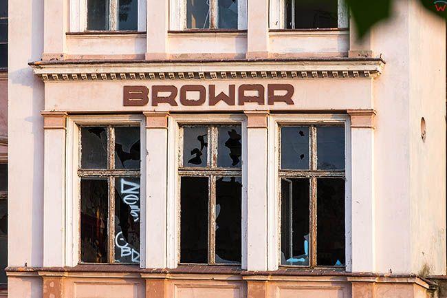 Legnica, dawny browar przy ulicy Mlynarskiej i Witelona. EU, Pl, Dolnoslaskie.