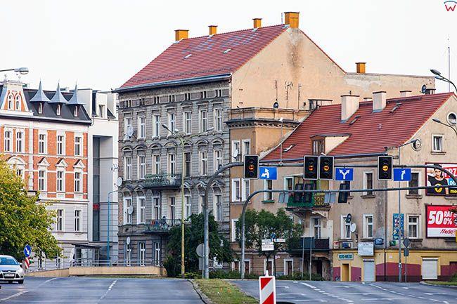 Legnica, ulica Muzealna. EU, Pl, Dolnoslaskie.