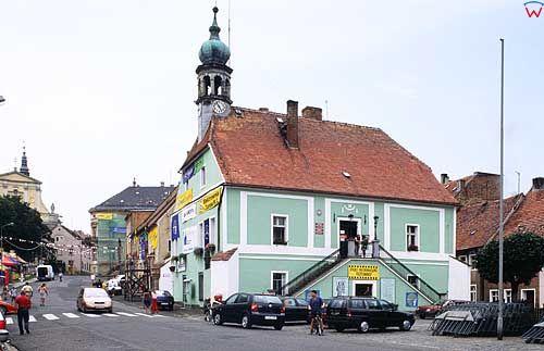 031812 fot.wojcik wojciech/dia135/polska/europa/lubomierz/poland/europe/dolnoslaskie/budynek/building/ratusz/town hall/dzien/day/plener/outdoor
