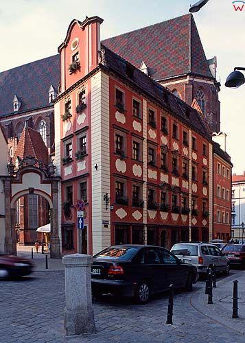 Wrocław-kamienica Jaś i Małgosia