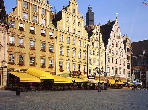 Kamienice Na starym mieście we Wrocławiu