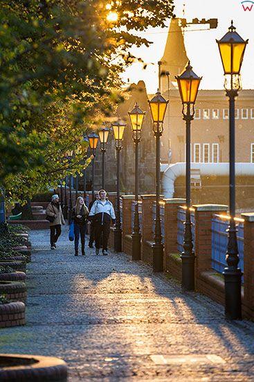 Wroclaw, deptak przy ulicy Grodzkiej. EU, Pl, Dolnoslaskie.