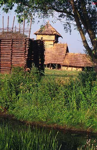 Osada w Biskupinie