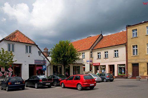Polska, kujawsko-pom. Centrum Brodnicy.