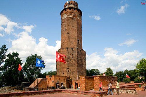 Polska, kujawsko-pom. Baszta zamkowa w Brodnicy.