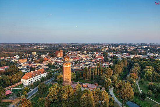 Brodnica, Zamek Krzyzacki. EU, PL, Pomorskie. Lotnicze.