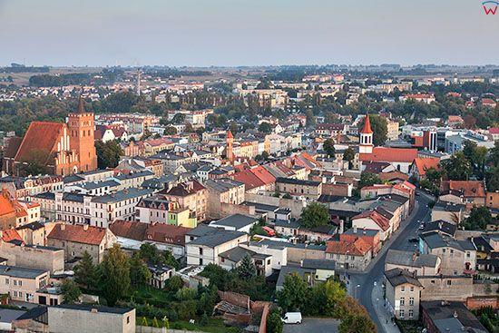 Brodnica, Stare Miasto. EU, PL, Pomorskie. Lotnicze.