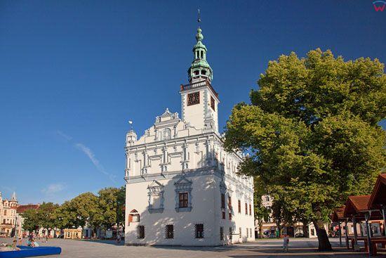 Chelmno - ratusz. EU, PL, Kujawsko-Pomorskie.