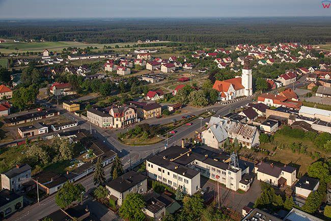 Osie, panorama miasta. EU, PL, Kujawsko-Pomorskie.