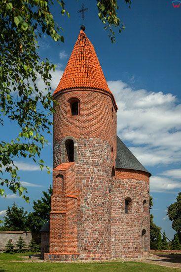 Strzelno. Rotunda Swietego Prokopa. EU, Pl, Kujawsko-Pomorskie.