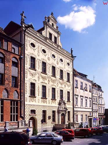 Toruń. Pałac Dąbskich
