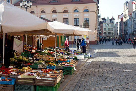 EU, PL, Kujawsko - Pomorskie. Rynek Nowomiejski w Toruniu.