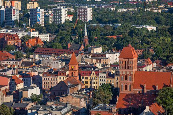 Torun. Nowe miasto. EU, Pl, Kujaw-Pom. LOTNICZE.