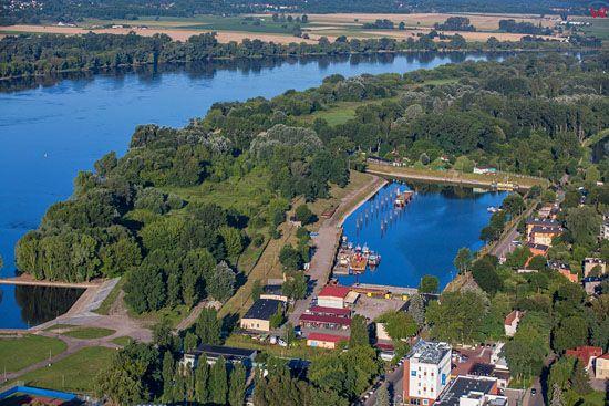 Torun. Port Zimowy. EU, Pl, Kujaw-Pom. LOTNICZE.