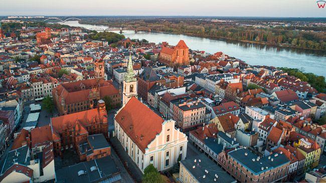 Torun, Stare Miasto. EU, PL, Warm-Maz. Lotnicze.