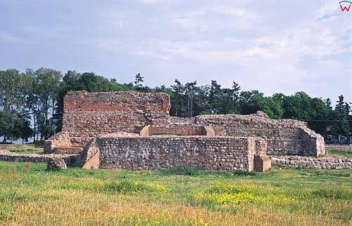 Ruiny zamku w Wenecji