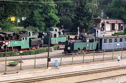 Stacja koleji wąskotorowej w Wenecji