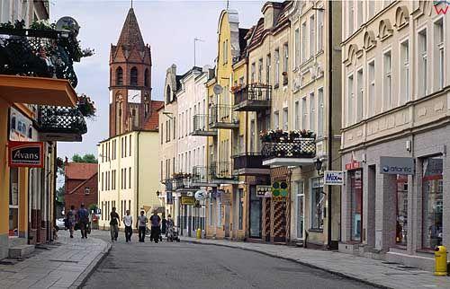 Żnin, centrum miasta