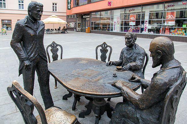 Lodz, Pomnik Trzech Fabrykantow. EU, PL, Lodzkie.