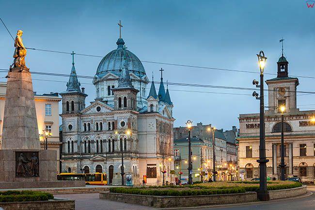 Lodz, Plac Wolnosci. EU, PL, Lodzkie.