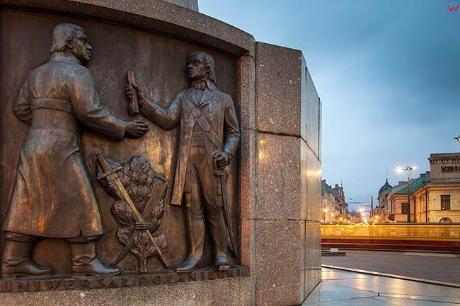 Lodz, Pomnik Tadeusza Kosciuszki. EU, PL, Lodzkie.