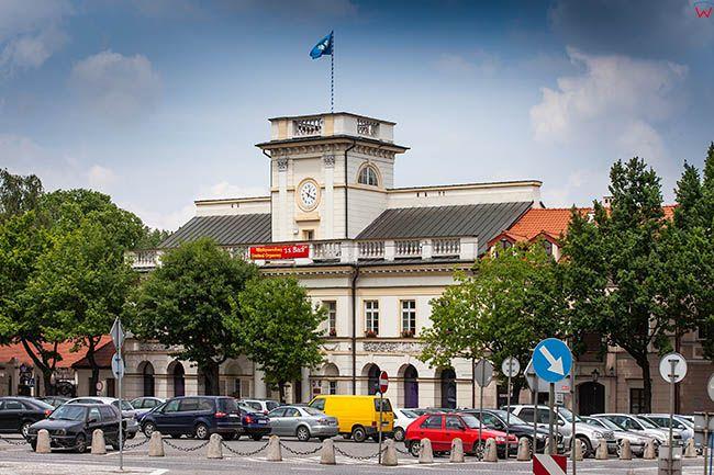 Lowicz, Ratusz przy Starym Rynku. EU, PL, Lodzkie.