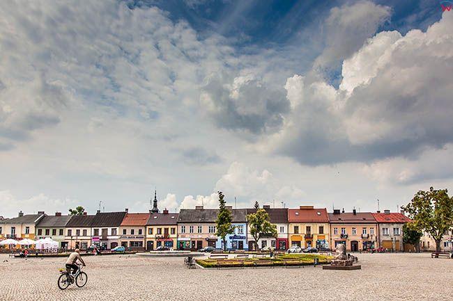 Lowicz, Nowy Rynek. EU, PL, Lodzkie.