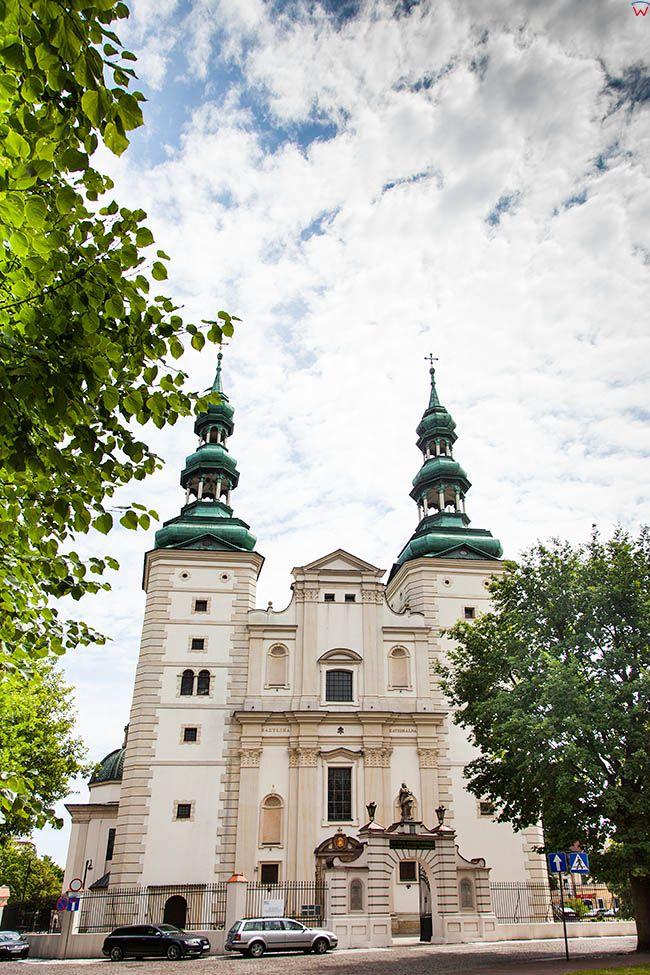 Lowicz, Bazylika Katedralna. EU, PL, Lodzkie.