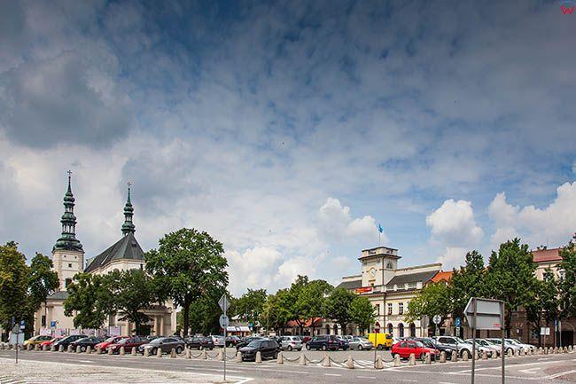 Lowicz, Stary Rynek. EU, PL, Lodzkie.