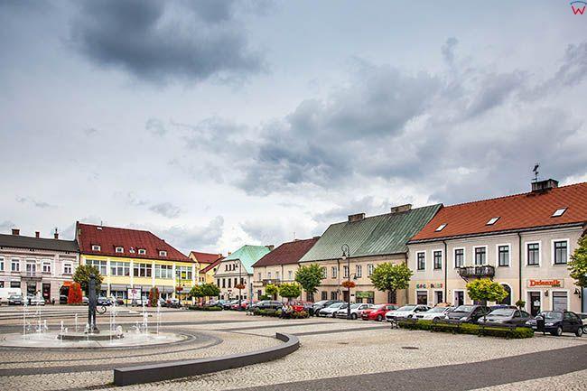 Sieradz, Rynek Starego Miasta. EU, Pl, Lodzkie.