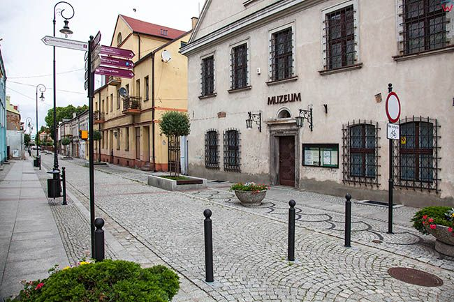 Sieradz, Muzeum Okregowe przy ul. Dominikanskiej. EU, Pl, Lodzkie.