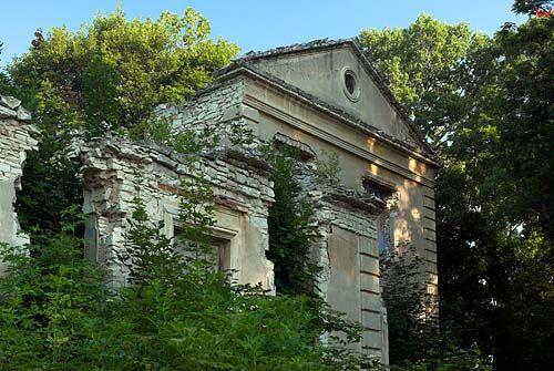 Ruiny pałacu w Gardzienicy