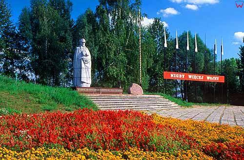 Pomnik generala Kleeberga w Kocku.