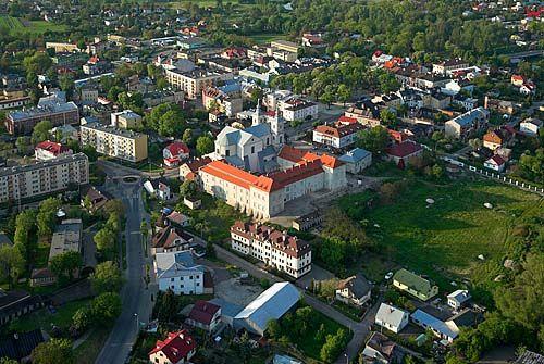LOTNICZE. Lubelskie, Krasnystaw centrum miasta.