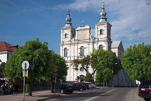 Lubelskie. Krasnystaw, kosciol Franciszka Ksawerego.