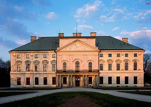 Lubartów, pałac, lubelskie