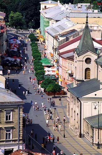 Lublin panorama miasta