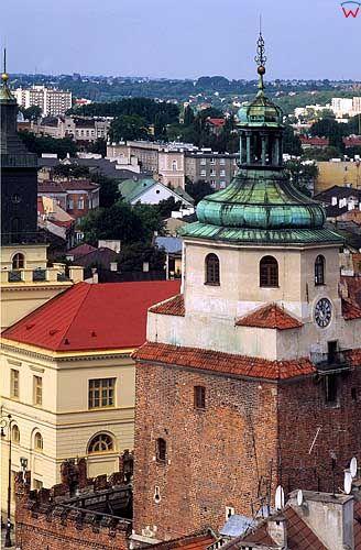Wieża Bramy Krakowskiej w Lublinie