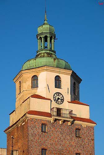 Lubelskie. Lublin, Wieza Bramy Krakowskiej.
