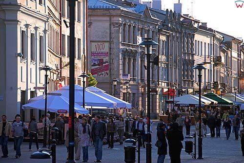 Lubelskie. Lublin, Krakowskie Przedmiescie.